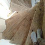 escalier malouinière